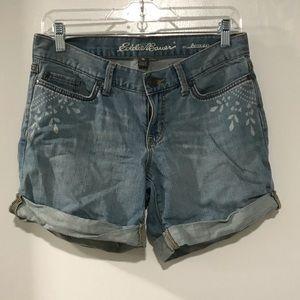 Eddie Bauer Boyfriend Shorts